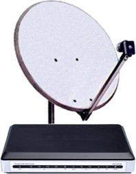Kit satellitare Tooway - base - Video contribution - Internet per aziende - Broadsat