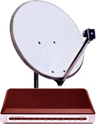 Tooway Satellite Kit - PRO - Video contribution - Internet Business - Broadsat
